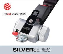 SilverSeries wheelchair restraint system
