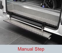 Manual Step for side entry