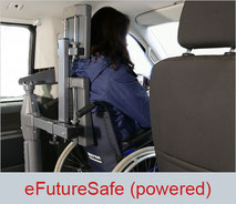 eFutureSafe is a powered and fully automatic head and backrest for wheelchair users
