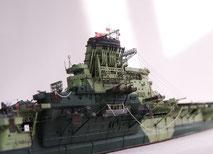 1/700 日本海軍 航空母艦 【信濃】 -4◆模型製作工房 聖蹟