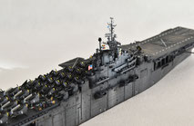 1/700 米航空母艦「バンカーヒル」(1945年2~3月頃)-11◆模型製作工房 聖蹟
