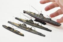 1/700 日本海軍 潜水艦  -3 ◆模型製作工房 聖蹟