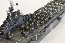 1/700 米航空母艦「バンカーヒル」(1945年2~3月頃)-5◆模型製作工房 聖蹟
