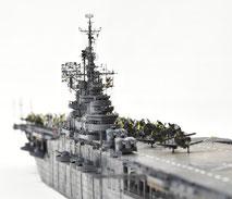 1/700 米航空母艦「バンカーヒル」(1945年2~3月頃)-6◆模型製作工房 聖蹟