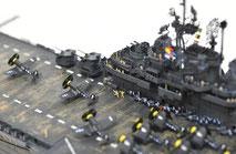 1/700 米航空母艦「バンカーヒル」(1945年2~3月頃)-10◆模型製作工房 聖蹟