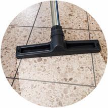 Hartbodenpflege und Bodenversiegelung für Parkett, Steinfussböden, Linoleum