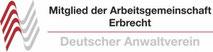 Mitglied der Arbeitsgemeinschaft Erbrecht (Deutscher Anwaltverein)