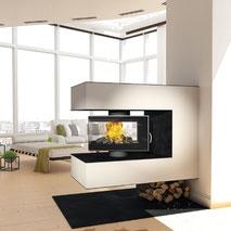 Heizkamin Ofen innovativ Feuer Kamin Ofen Wärme
