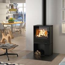Kaminofen Attika Q Tee 2 Schwedenofen Holz Feuer Wärme Ofen