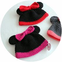 Kindermütze Mini Maus