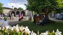 Jazz & Cie joue de vieux standard de jazz pour vos cocktails au château La Hitte dans le Lot & Garonne