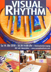 Visual Rhythm • Kreativ Workshop • Sa 14. Okt 2018 • Trommelschule Leipzig