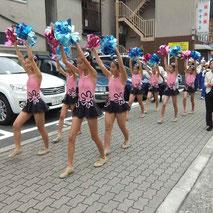 大阪ジュニアバンドによるパレード