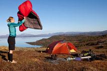 キャンプ用品メンテナンス