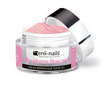 ultra strong fiber pink gel eniinails con fibra di vetro cover per unghie