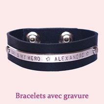 Bracelet gravure