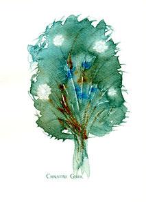 Kastanie, Lebensbaum, keltischer Baumkreis
