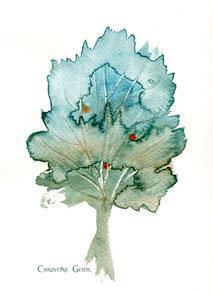 Kirsche, Lebensbaum, Baum des Lebens, keltischer Jahreskreis, Baumkreis, keltischer Baumkreis