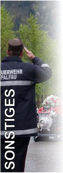 Freiwillige Feuerwehr Palfau - Sonstiges
