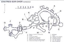 Le souterrain de Barbaran à Châtres-sur-Cher