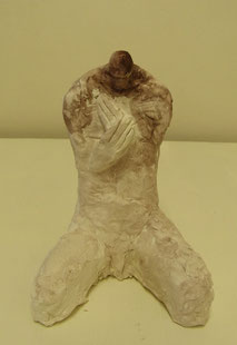 Hermit   H.16cm   Stone powder clay   2012   Private collection