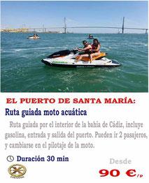 ruta guiada moto el puerto