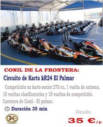 Karting El Palmar en Cádiz