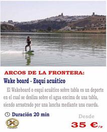 wake board Arcos de la frontera