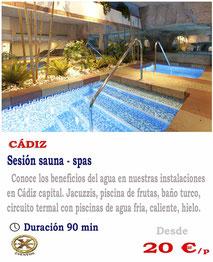 sauna spas Cadiz