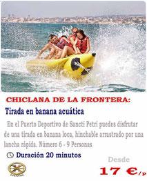 banana acuática para grupos