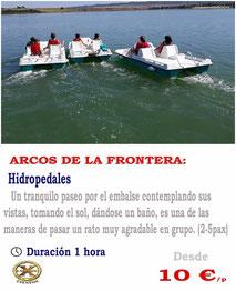 hidropedales Arcos de la frontera