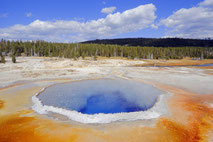 Naturfotografien aus dem Yellowstone und dem Grand Teton Nationalpark.