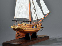 40-35 Gretel |  Period:  18th Century Scale:  1/54 | Scratch Built | Junichi Yamashita