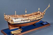 40-38 Le Francois |  Period:  1683 Scale:  1/48 | Scratch Built | Katsuji Tsuchiya