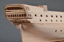 40-20 Prison Ship  | Period:  18~19th Century Scale:  1/143 | Scratch Built | Masahiko Fukuda