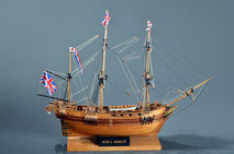 40-60 HMS Beagle |    Period:  1817 Scale:  1/64 | Mamoli | Noboru Ikemoto
