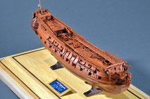40-37 Le Francois |  Period:  1863 Scale:  1/96 |  Scratch Built | Etsuro Tsuboi