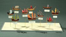 38-50 Old types of sailing ships | Masahiko FUKUDA