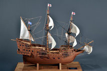 40-55 Golden Hind |  Period:  1577 Scale:  1/50 |  Woody Joe | Kazuo Nagano