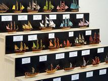 39-05  Old Types of Sailing Ships | Masahiko FUKUDA