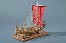 40-23 Egyptian Ship | Period:  BC2500 Scale:  1/50 | Amaty | Toshio Matsushita