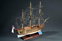 40-33 HMS Royal Caroline |  Period:  1749 Scale:  1/47 |  Mantua | Masaki Maegaito