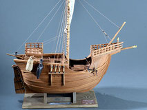 40-50 Catalan ship |  Period:  15th Century Scale:  1/40 | Woody Joe | Motonori Hoshino