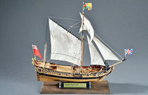 40-34 Charles Royal Yacht |  Period:  1674 Scale:  1/64 | Woody Joe | Takashi Ono
