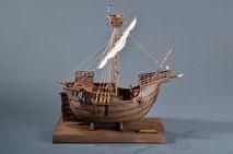 40-49 Catalan ship |  Period:  15th Century Scale:  1/40 | Woody Joe | Toshio Matsushita