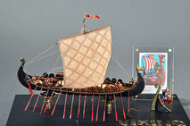 40-21 Oseberg Viking Ship | Period:  850 Scale:  1/50 | Amaty | Koji Tanaka