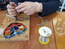 glas in lood workshop vrouwen zwolle vrijgezellenfeest