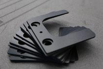 Schaumstoffteile welche mit dem oszilierenden Messer hergestellt wurden.
