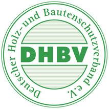 Logo für Mitgliedsbetriebe des Deutschen Holz- und Bautenschutzverbands