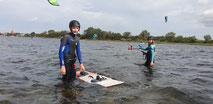 Dein Kitekurs im Salzhaff in Rerik an der Ostsee in deiner VDWS Kiteschule Oceanblue Watersports. Starte jetzt und lerne Kiten .